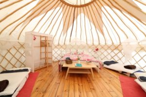 Rosehip - Yurt with Mountain Views